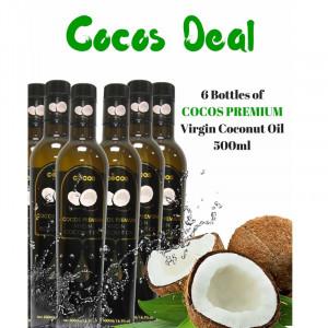 Cocos premium virgin coconut oil