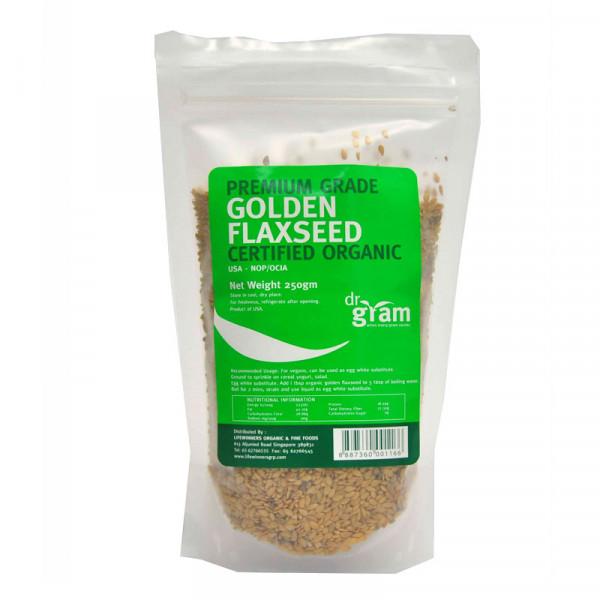 Organic Golden Flaxseed