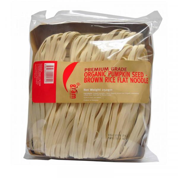 Pumpkin Seed Brown Rice Flat Noodle