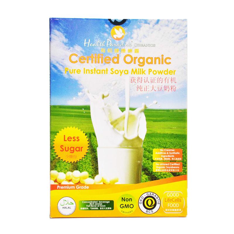 Organic soya milk