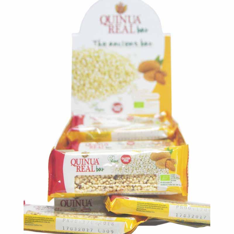 Quinua Real Organic Bar Almond