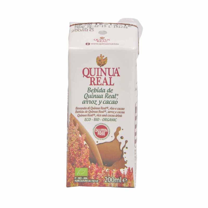 Quinua Real Organic Quinoa Cocoa Drink 200ml