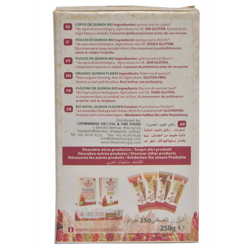 Quinua Real Organic Quinoa Flakes 250g (Gluten Free ...